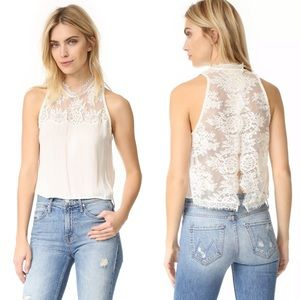 Free People Tied To You Camisole in Cream
